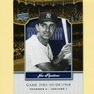 2008 Upper Deck Yankee Stadium Legacy Collection #3583 Joe Pepitone - New York Yankees
