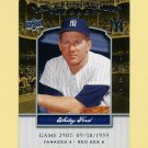 2008 Upper Deck Yankee Stadium Legacy Collection #2907 Whitey Ford - New York Yankees