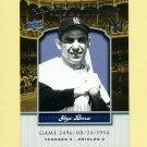 2008 Upper Deck Yankee Stadium Legacy Collection #2496 Yogi Berra - New York Yankees
