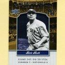2008 Upper Deck Yankee Stadium Legacy Collection #0245 Babe Ruth - New York Yankees
