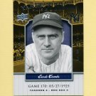 2008 Upper Deck Yankee Stadium Legacy Collection #0170 Earle Combs - New York Yankees