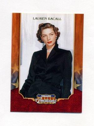 2009 Donruss Americana #27 Lauren Bacall