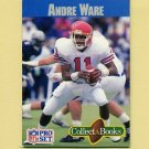 1990 Pro Set Collect-A-Books Football #02 Andre Ware - Detroit Lions