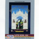 1990 Pro Set Theme Art Football #22A Super Bowl XXII ERR Washington Redskins / Denver Broncos
