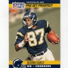1990 Pro Set Football #749 Quinn Early - San Diego Chargers