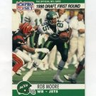 1990 Pro Set Football #694 Rob Moore RC - New York Jets
