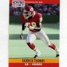 1990 Pro Set Football #536 Derrick Thomas - Kansas City Chiefs