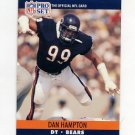 1990 Pro Set Football #449B Dan Hampton - Chicago Bears