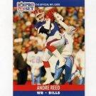1990 Pro Set Football #440 Andre Reed - Buffalo Bills