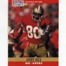 1990 Pro Set Football #295 Jerry Rice - San Francisco 49ers