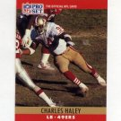 1990 Pro Set Football #289A Charles Haley ERR - San Francisco 49ers