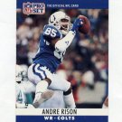 1990 Pro Set Football #134A Andre Rison - Indianapolis Colts