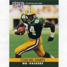 1990 Pro Set Football #114A Sterling Sharpe - Green Bay Packers