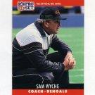 1990 Pro Set Football #068B Sam Wyche CO - Cincinnati Bengals