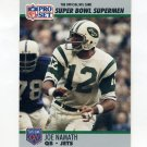 1990-91 Pro Set Super Bowl 160 Football #034 Joe Namath - New York Jets