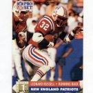 1991 Pro Set Football #743 Leonard Russell RC - New England Patriots