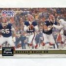 1991 Pro Set Football #341B Highest Scoring Playoff Game Jim Kelly / Dan Marino