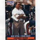 1991 Pro Set Football #108 Mike Ditka CO - Chicago Bears