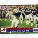1991 Pro Set Football #052 Thurman Thomas - Buffalo Bills
