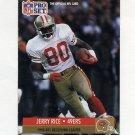 1991 Pro Set Football #011 Jerry Rice - San Francisco 49ers NM-M