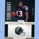 2010 Rookies and Stars Football Studio Rookies #11 Ben Tate - Houston Texans