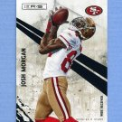 2010 Rookies and Stars Football #126 Josh Morgan - San Francisco 49ers