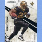 2010 Rookies and Stars Football #094 Pierre Thomas - New Orleans Saints