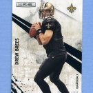 2010 Rookies and Stars Football #091 Drew Brees - New Orleans Saints