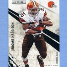 2010 Rookies and Stars Football #034 Jerome Harrison - Cleveland Browns