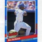 1991 Donruss Baseball Bonus Cards #BC10 Bo Jackson - Kansas City Royals