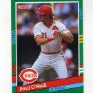 1991 Donruss Baseball #583 Paul O'Neill - Cincinnati Reds