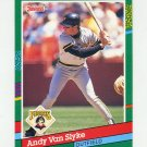 1991 Donruss Baseball #552 Andy Van Slyke - Pittsburgh Pirates