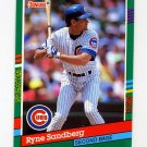1991 Donruss Baseball #504 Ryne Sandberg - Chicago Cubs