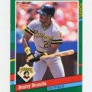 1991 Donruss Baseball #495 Barry Bonds - Pittsburgh Pirates Ex