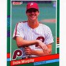 1991 Donruss Baseball #484 Dale Murphy - Philadelphia Phillies