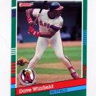 1991 Donruss Baseball #468 Dave Winfield - California Angels