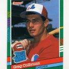 1991 Donruss Baseball #425 Greg Colbrunn RR RC - Montreal Expos