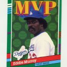 1991 Donruss Baseball #405 Eddie Murray MVP - Los Angeles Dodgers