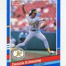 1991 Donruss Baseball #270 Dennis Eckersley - Oakland A's