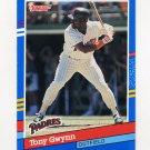 1991 Donruss Baseball #243 Tony Gwynn - San Diego Padres