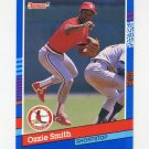 1991 Donruss Baseball #240 Ozzie Smith - St. Louis Cardinals NM-M