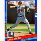 1991 Donruss Baseball #075 John Smoltz - Atlanta Braves