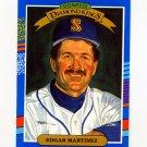 1991 Donruss Baseball #016 Edgar Martinez DK - Seattle Mariners