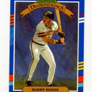 1991 Donruss Baseball #004 Barry Bonds DK - Pittsburgh Pirates ExMt