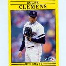 1991 Fleer Baseball #090 Roger Clemens - Boston Red Sox