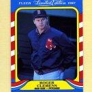 1987 Fleer Limited Edition Baseball #09 Roger Clemens - Boston Red Sox
