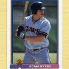 1991 Bowman Baseball #617 Adam Hyzdu RC - San Francisco Giants