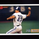 1993 Bowman Baseball #463 Jack Morris - Toronto Blue Jays