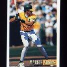 1993 Bowman Baseball #429 Marcos Armas RC - Oakland A's