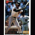 1993 Bowman Baseball #196 Willie McGee - San Francisco Giants